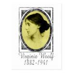 Virginia Woolf Tarjeta Postal
