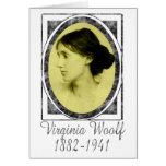 Virginia Woolf Tarjetón