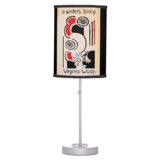Virginia Woolf Vanessa Bell Cover A Writer's Diary Desk Lamp