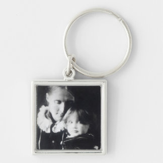 Virginia Woolf, with her mother Julia, 1884 Keychains