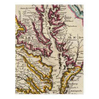 Virginia y Maryland Postales