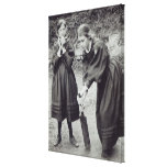 Virginia y Vanesa Stephen, en St Ives, 1894 Lienzo Envuelto Para Galerias