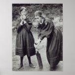 Virginia y Vanesa Stephen, en St Ives, 1894 Impresiones
