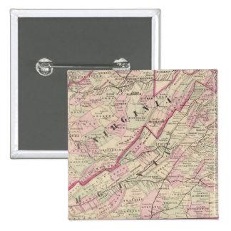 Virginia y Virginia Occidental Pin
