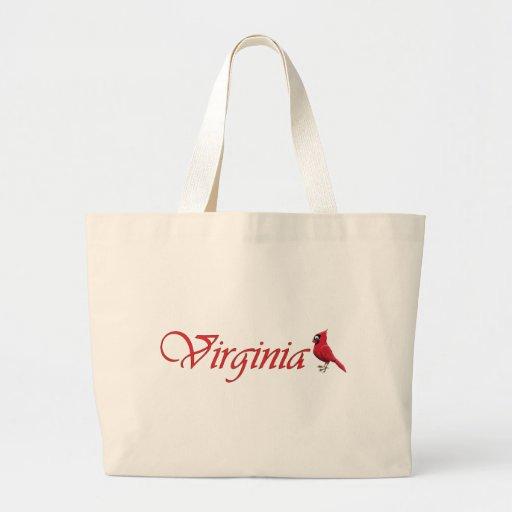 Virginian Cardinal Tote Bag
