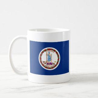 Virginian Flag + Map Mug