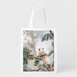 Virginian Opossum Reusable Grocery Bag