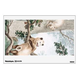 Virginian Opossum Wall Decal