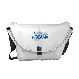 Virginians del oeste para Obama.png Bolsa Messenger