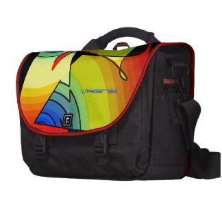 Virginia's colorful laptop bag