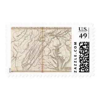 Virginie, Pensylvanie Stamps
