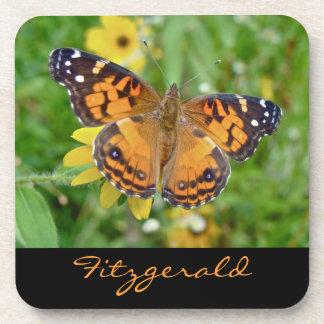 Virginiensis americano de señora Butterfly - de Va Posavasos