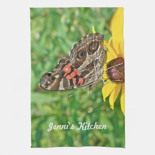 Virginiensis americano de señora Butterfly - de Va Toalla