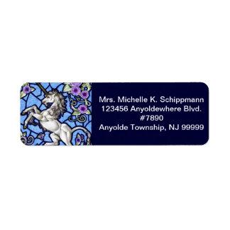 Virginsnowe Return Address Label