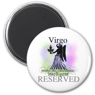 Virgo About You 2 Inch Round Magnet