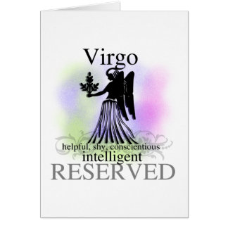 Virgo About You Greeting Card
