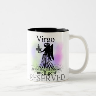 Virgo About You Two-Tone Coffee Mug