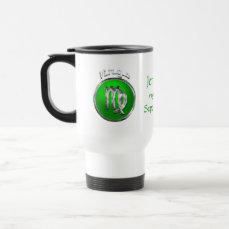 Virgo Astrological Sign Travel Mug
