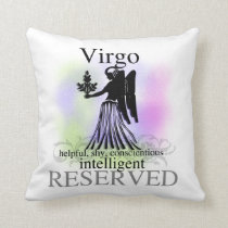 Virgo Astrology Sign American MOJO Pillow