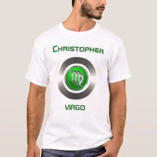 Virgo Astrology Symbol T-Shirt
