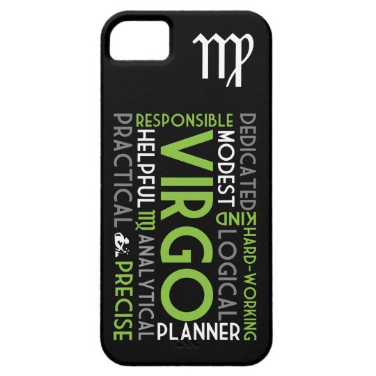 Virgo Astrology Word Collage iPhone 5 Case