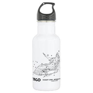 Virgo (August 23rd - September 22nd) Constellation Water Bottle