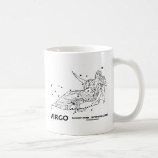 Virgo (August 23rd - September 22nd) Classic White Coffee Mug