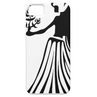 VIRGO BLANCK AND WHITE HOROSCOPES PRODUCTS iPhone 5 COVER