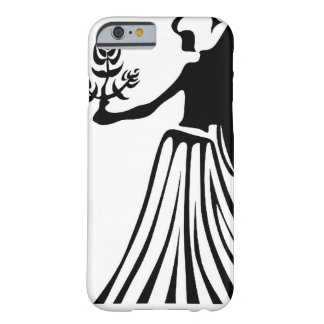 VIRGO BLANCK AND WHITE HOROSCOPES PRODUCTS BARELY THERE iPhone 6 CASE