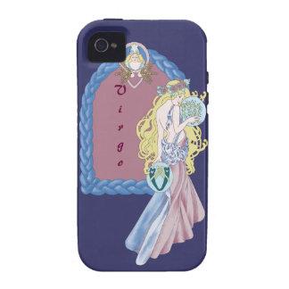 Virgo céltico Case-Mate iPhone 4 carcasa