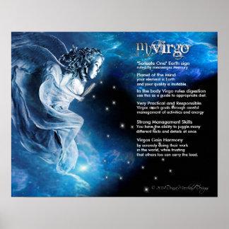 Virgo Characteristics Poster