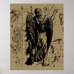 Virgo Constellation Hevelius 1690 Aug 23  Sept 22 Poster