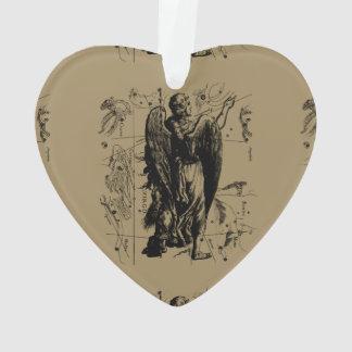 Virgo Constellation Vintage Hevelius 1690 Ornament