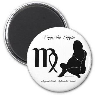 Virgo Constellation/Zodiac Magnet
