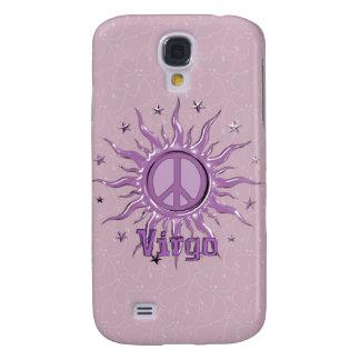 Virgo de Sun de la paz Carcasa Para Galaxy S4