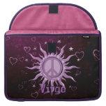 Virgo de Sun de la paz Funda Para Macbook Pro