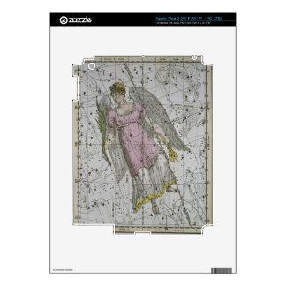 """Virgo, """"de un atlas celestial"""", pub. en 1822 (col iPad 3 skin"""