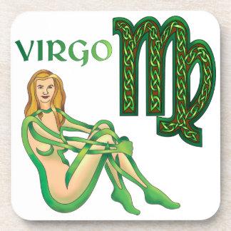 Virgo Drink Coaster