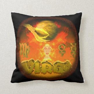 Virgo espeluznante del zodiaco de Valxart Almohada