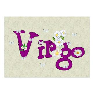 Virgo Flowers Business Cards
