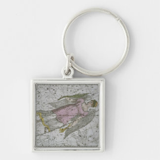 Virgo, from 'A Celestial Atlas', pub. in 1822 (col Keychain