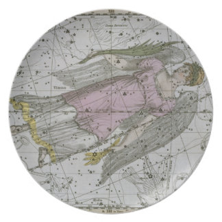 Virgo, from 'A Celestial Atlas', pub. in 1822 (col Party Plate
