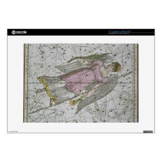 "Virgo, from 'A Celestial Atlas', pub. in 1822 (col 15"" Laptop Skins"