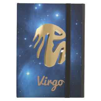 Virgo golden sign iPad air cover