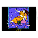 Virgo Greeting Card