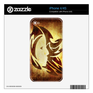 Virgo Horoscope Skins For The iPhone 4