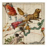 Virgo, Hydra, Crater, Bootes, Leo and  Centaurus Posters