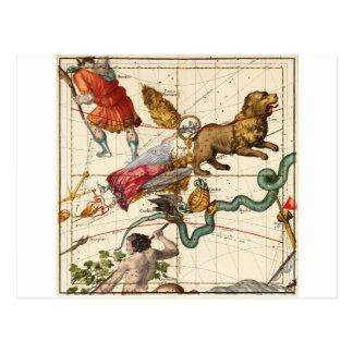 Virgo, Hydra, Crater, Bootes, Leo, Centaurus Postcard