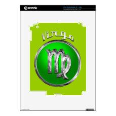 Virgo iPad 2 Decal