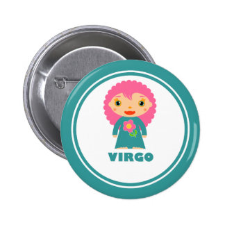 Virgo is my Zodiac Sign Button